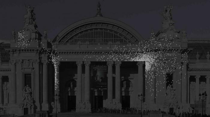 L'art numérique en majesté sur la façade du Grand Palais