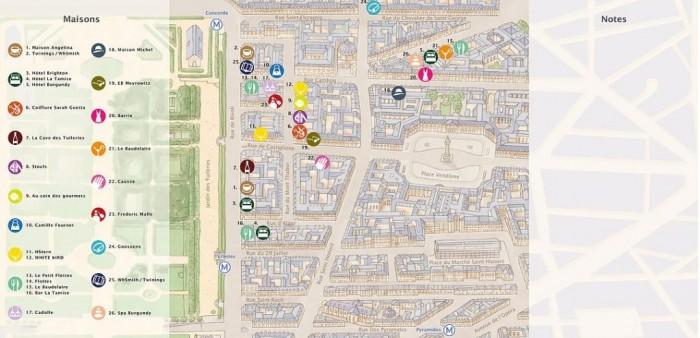 Parcours Tuileries, le parcours shopping attentionné