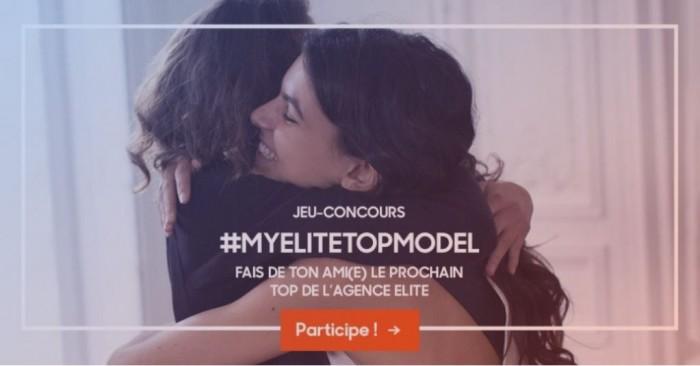 #MYELITETOPMODEL : 1er jeu-concours digital de l'agence Elite