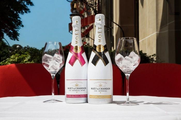 Moët Ice Impérial Rosé s'invite sur la terrasse du Plaza Athénée
