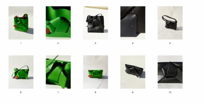 Musubi, la nouvelle ligne de sacs d'Acne Studios