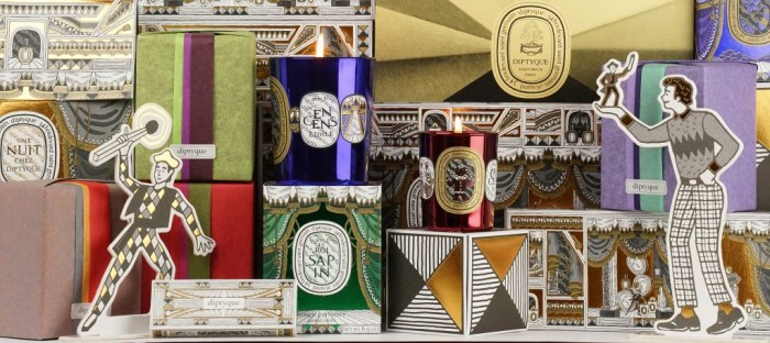 Paris, Londres et New-York, les Pop-up stores de Noël de Diptyque