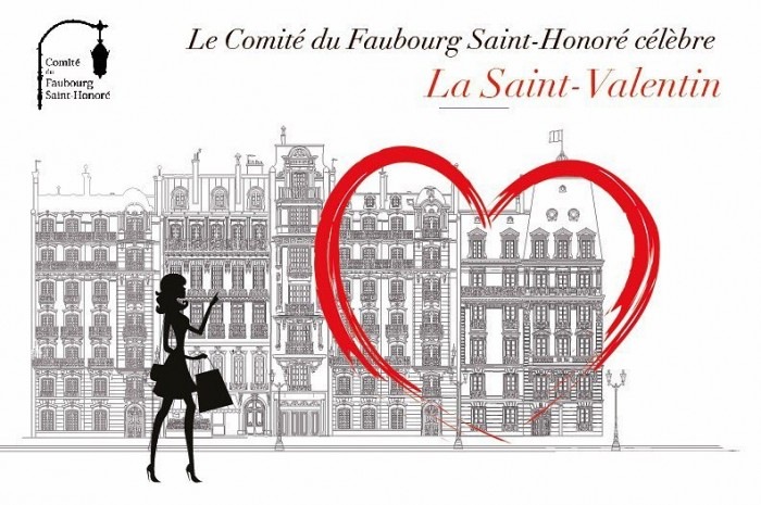 Le Comité du Faubourg Saint-Honoré célèbre la Saint-Valentin