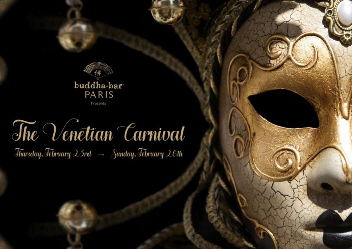 Le Buddha Bar accueille le Venetian Carnival