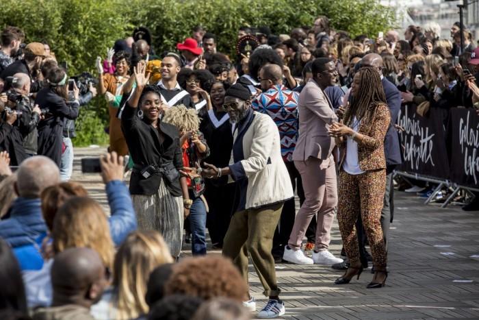 La Grande Parade Africa Now aux Galeries Lafayette Haussmann