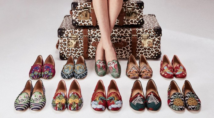 Charlotte Olympia x Globe-Trotter, la collection capsule