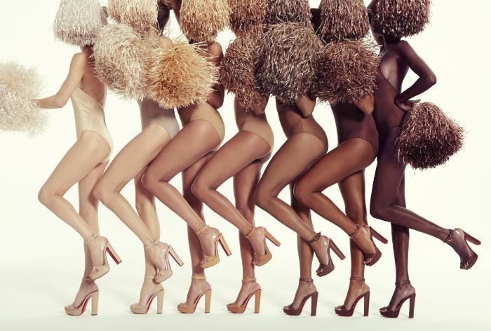 Christian Louboutin réinvente le nude