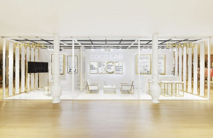 Le Coco Lab, le pop-up Chanel du Bon Marché Rive Gauche