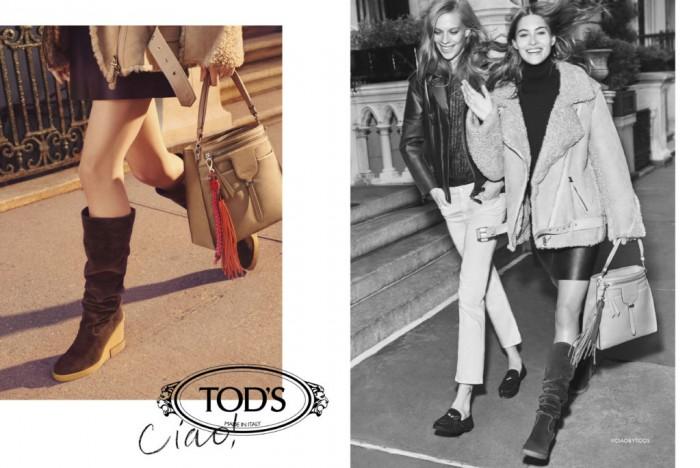 Ciao, la nouvelle campagne de la Maison Tod's