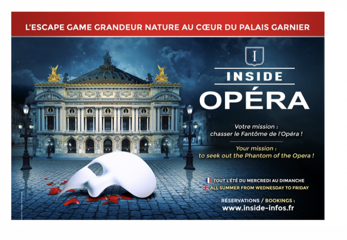 Inside Opéra, le jeu immersif grandeur nature de l'Opéra Garnier