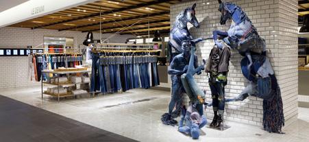 Le printemps haussmann ose le denim maryo 39 s bazaar - Decor discount st jean de vedas ...