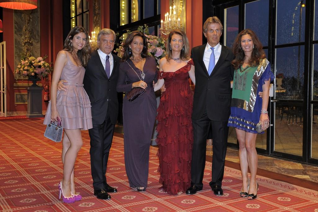 Louise Monot, Katia et Sidney Toledano, Arielle de Rothschild, Dominique Desseigne et Cordelia de Castellane