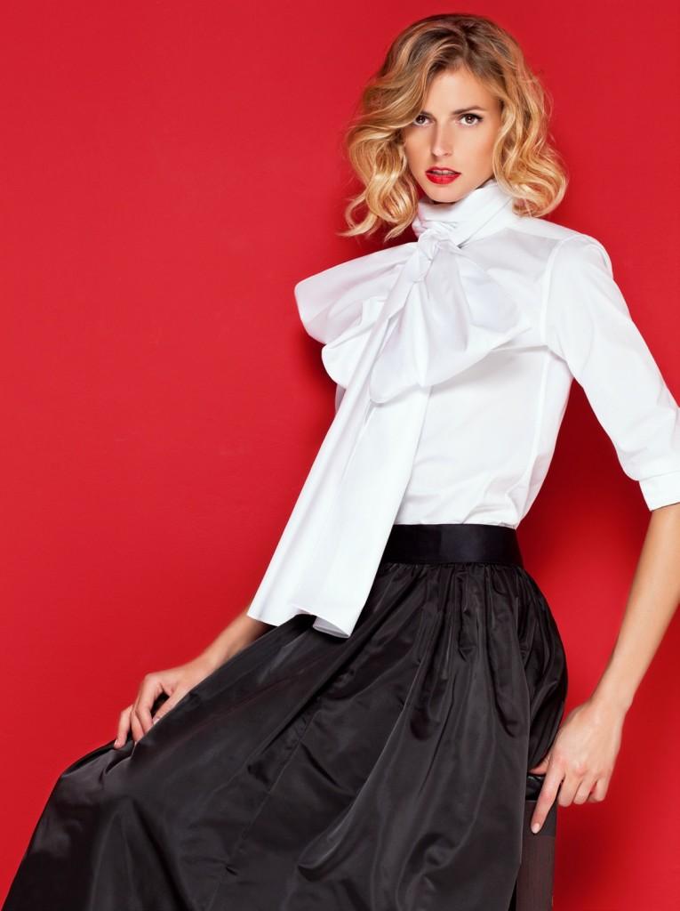 La collection white shirt de carolina herrera maryo 39 s bazaar for Carolina herrera white shirt collection