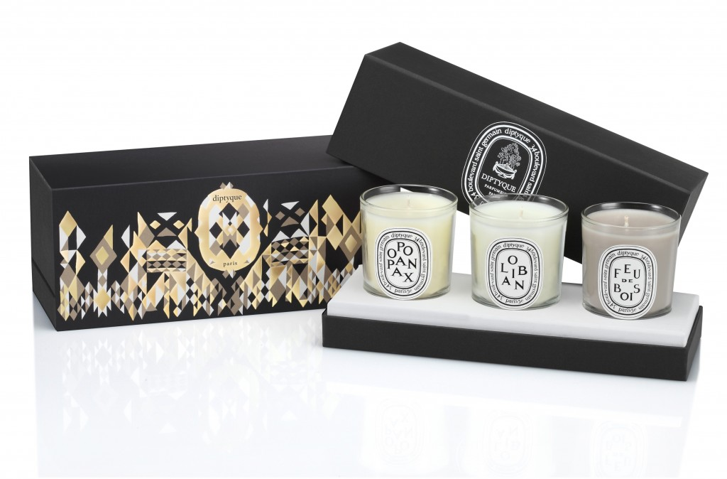 les bougies de no l de diptyque maryo 39 s bazaar. Black Bedroom Furniture Sets. Home Design Ideas