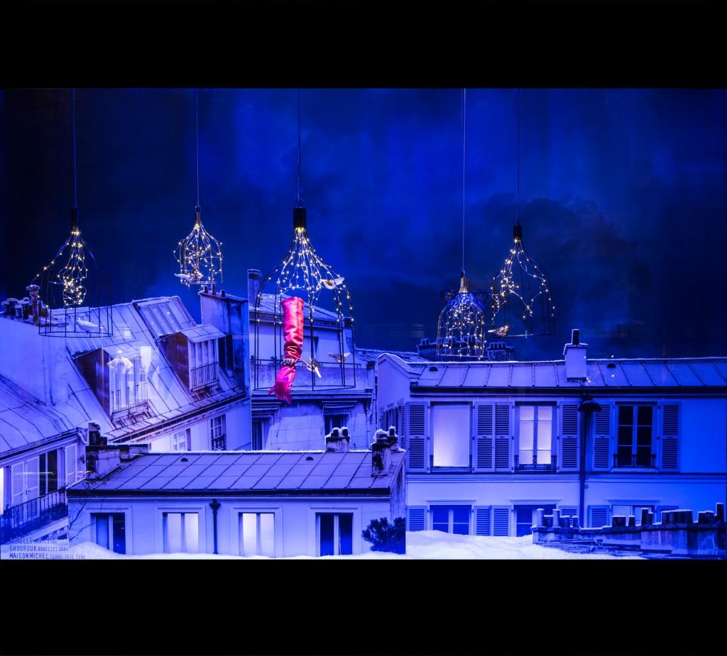 #081AC3 L'envol Enchanté De Noël Du Bon Marché Maryo's Bazaar 5347 décorations de noel bon marché 1024x925 px @ aertt.com