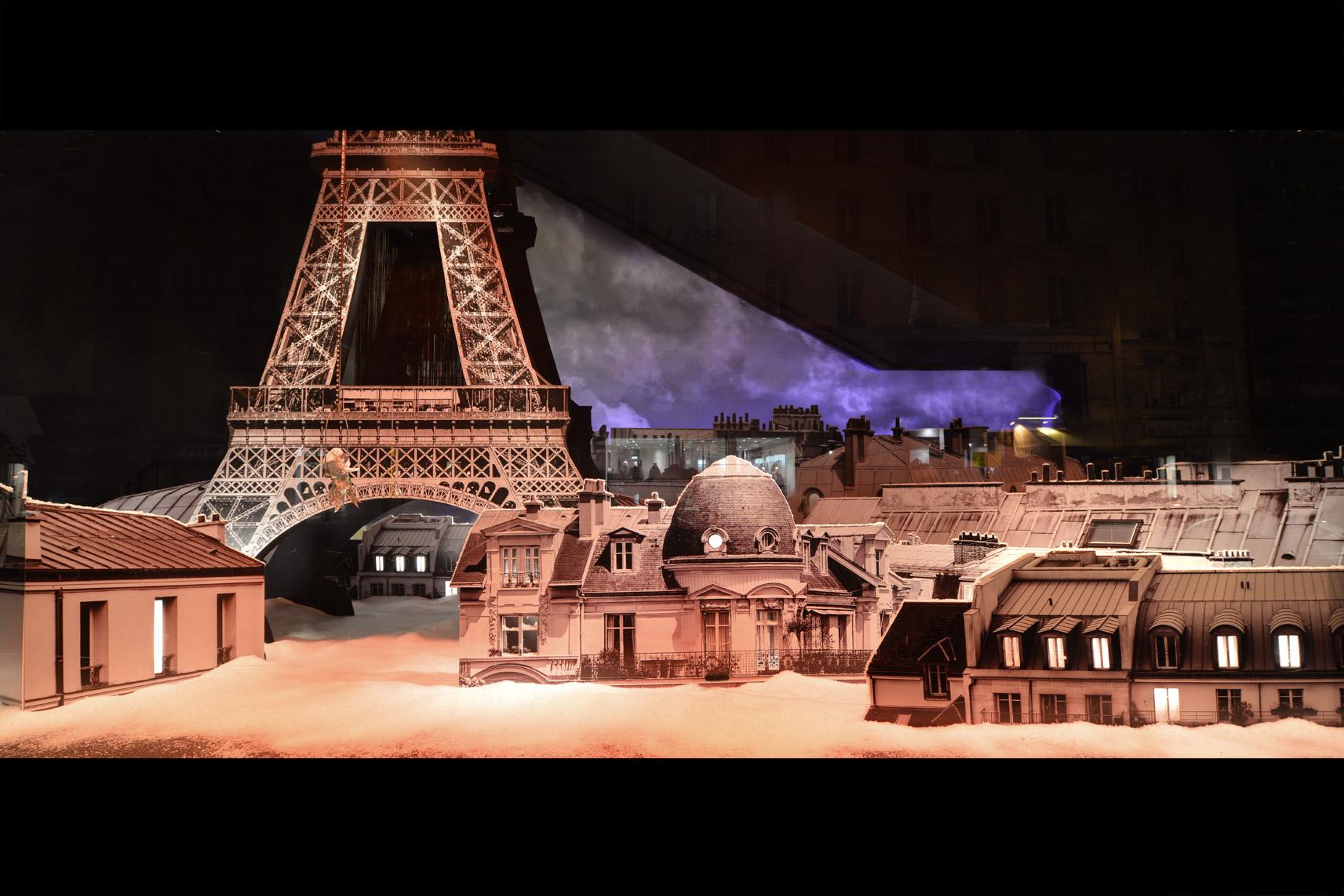 #B25919 Maryo's Bazaar Vitrine Tour Eiffel Noel 2012 Bon Marche  6073 decoration de noel tour eiffel 1713x1143 px @ aertt.com