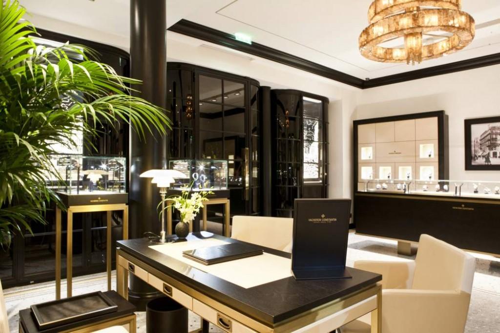 la boutique parisienne de vacheron constantin maryo 39 s bazaar. Black Bedroom Furniture Sets. Home Design Ideas