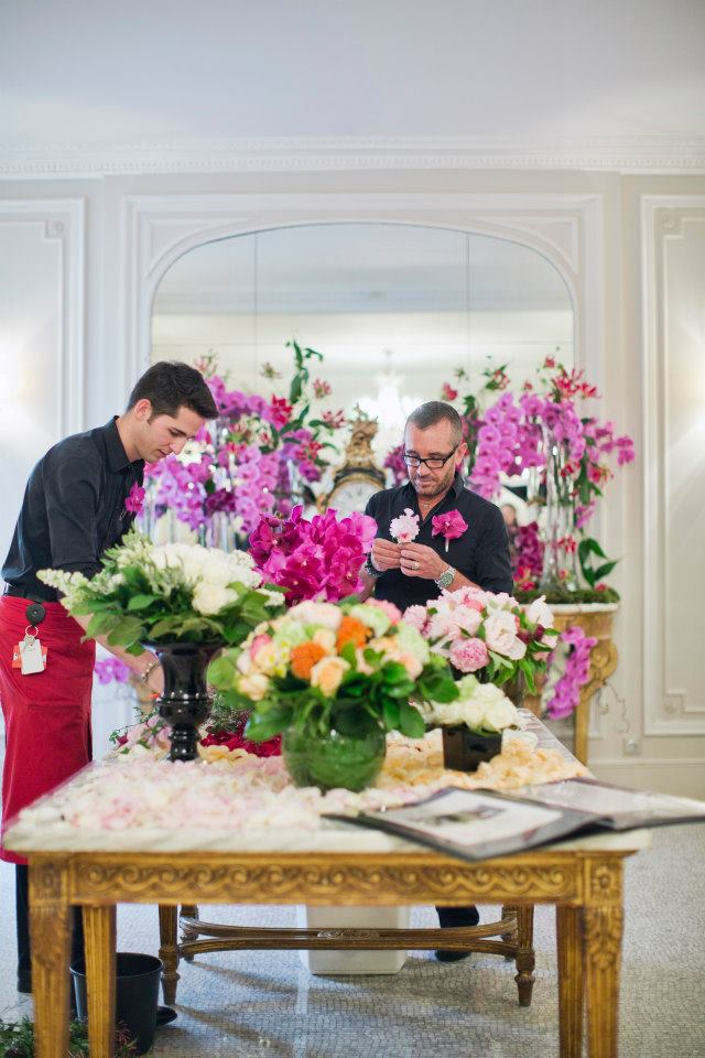 Atelier Fleuriste  Paris- FRANCE 20-04-2013 Tom Parker - Sipa
