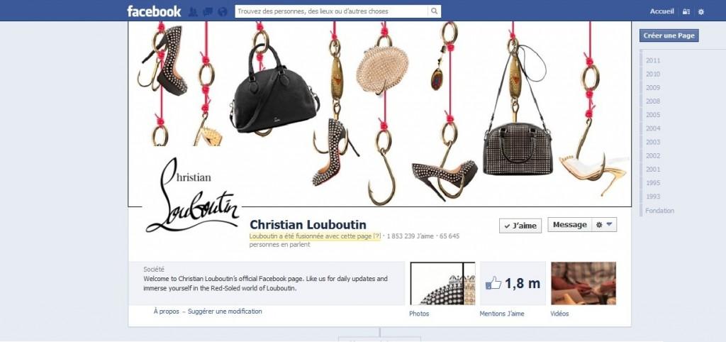 Facebook Christian Louboutin 02