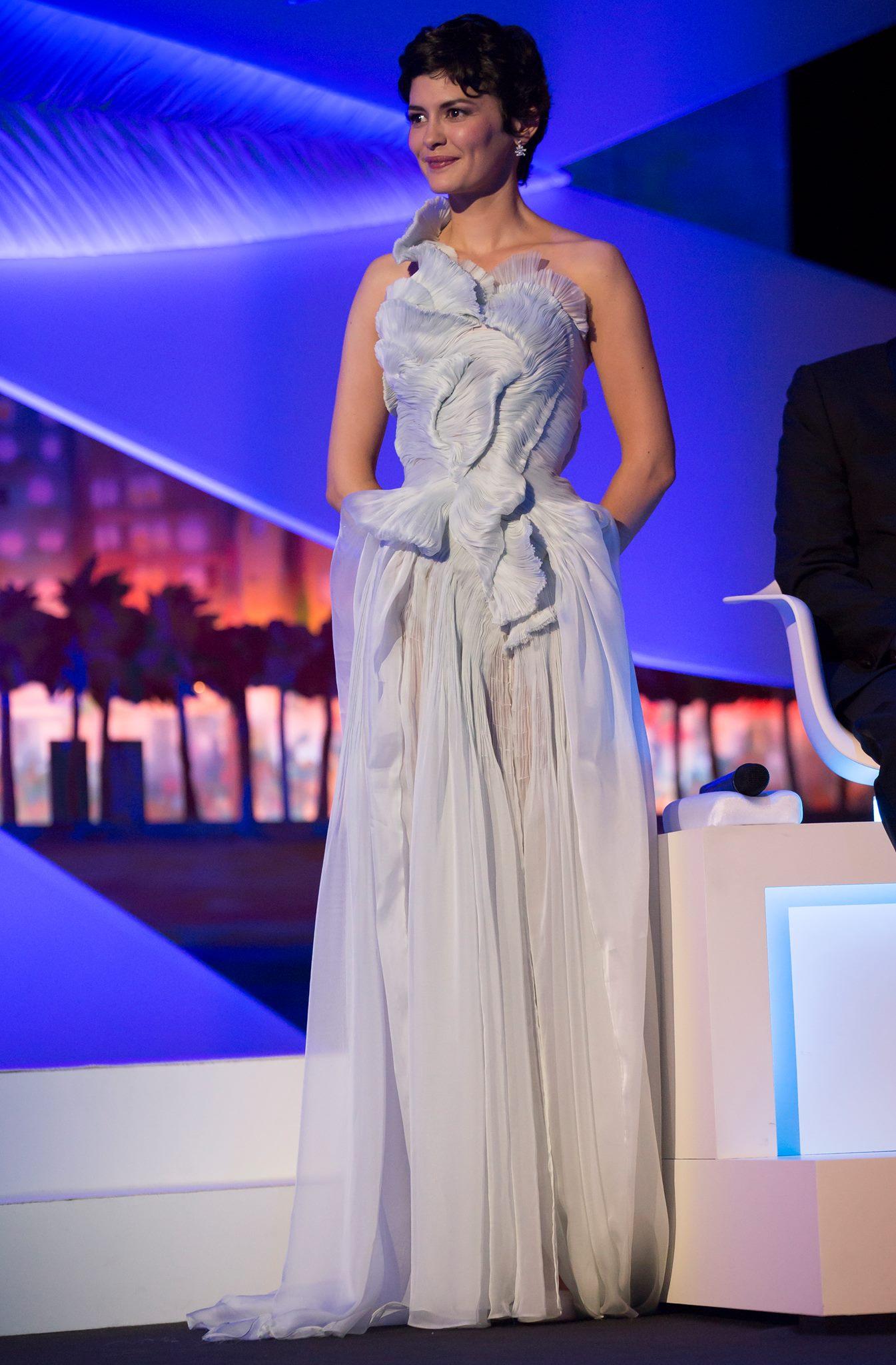 Audrey Tautou Wearing Absinthe from Yiqing Yin