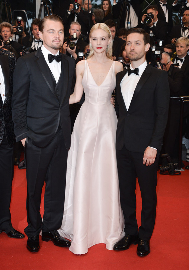 Leonardo DiCaprio, Carey Mulligan et Tobey Maguire Getty Images