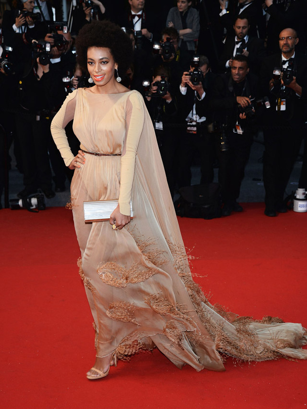 solange knowles en stéphane rolland getty images