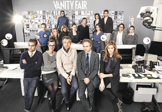 équipe vanity fair