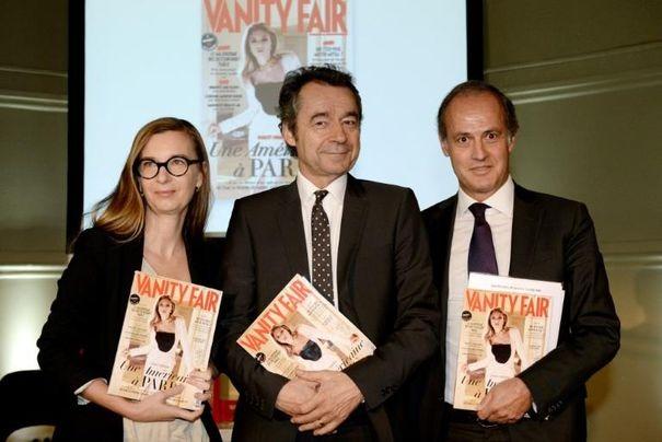 616135_michel-denisot-c-anne-boulay-et-xavier-romatet-posent-pour-le-lancement-du-magazine-vanity-fair-le-25-juin-2013