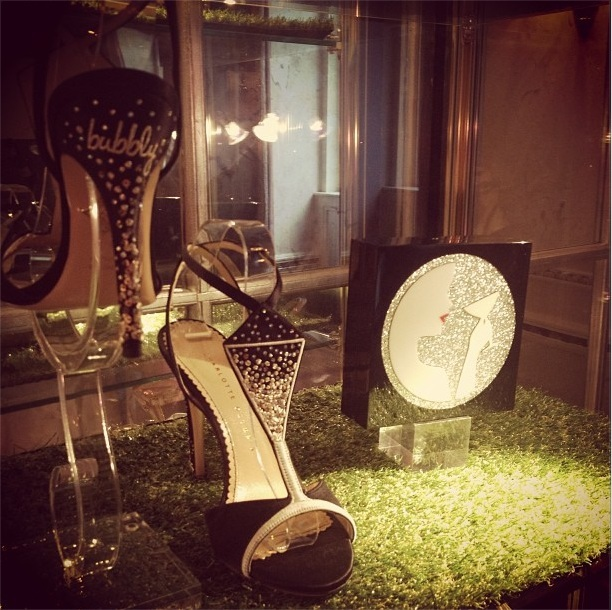 Instagram charlotte Olympia - sandal Grande Dame and clutch Cheers