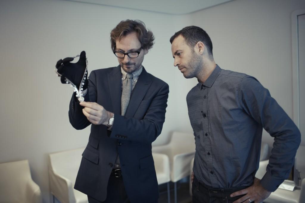 Nicolas Bos and Benjamin Millepied_ Photo by Patrick Swirc_Credit Van Cleef & Arpels