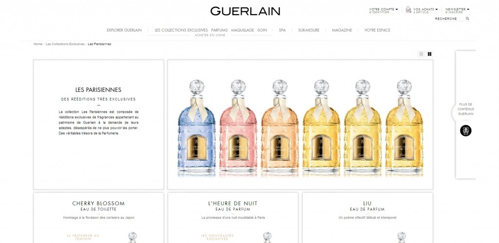 guerlain collection exclusives