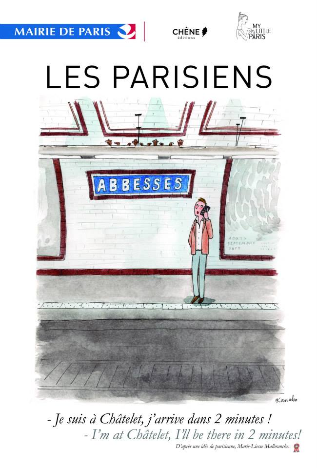 affiche les parisiens 02