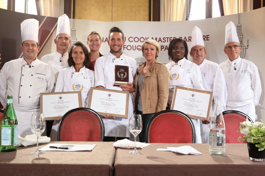 Anthony Le Rhun lauréat du Cook Master 2012