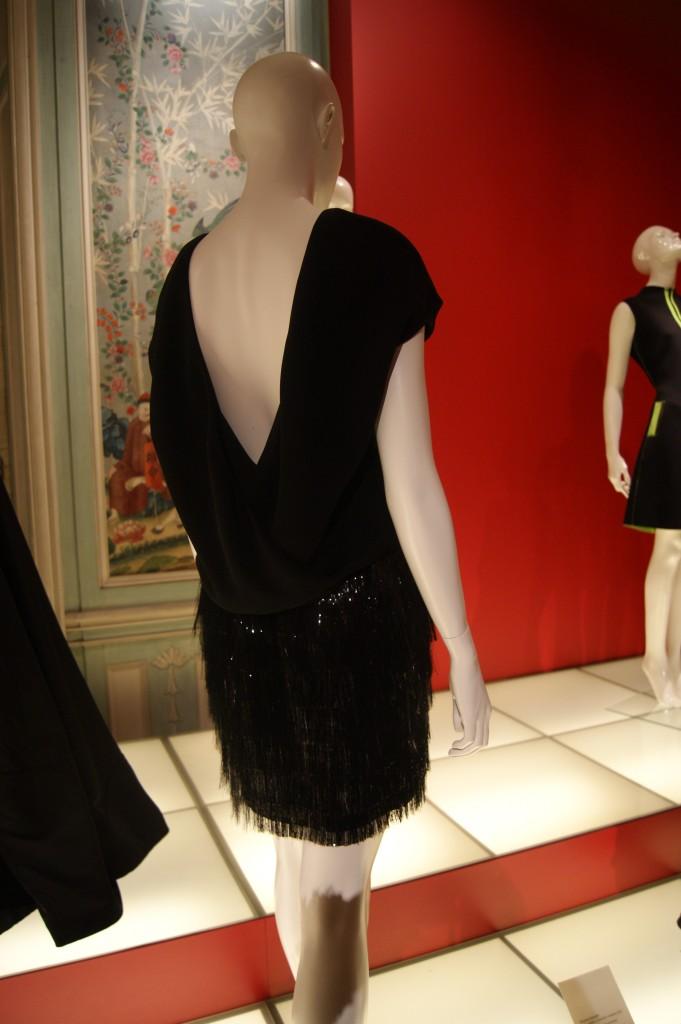 Balenciaga, robe en crêpe de soie et cellophane Nicolas Ghesquière pour Balenciaga collection croisière 2013