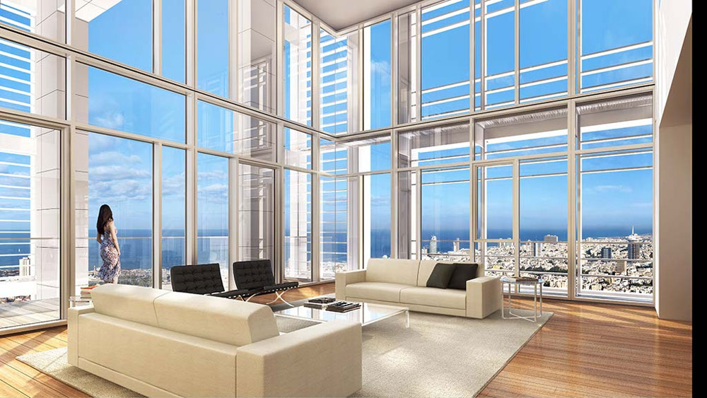 $50 million Apartment in Meier-on-Rothschild Tower Still Awaits for Buyer