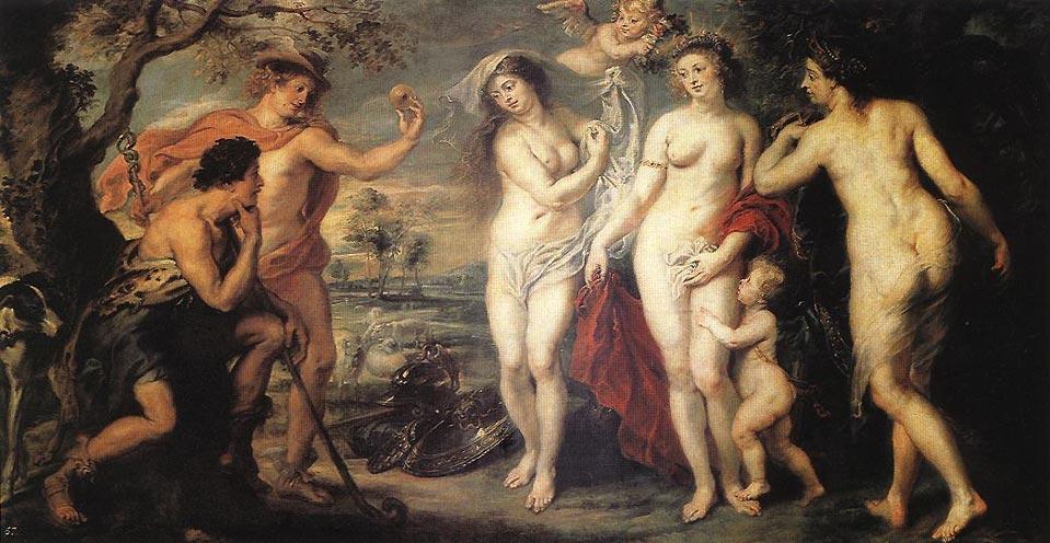Jugement de Paris Rubens