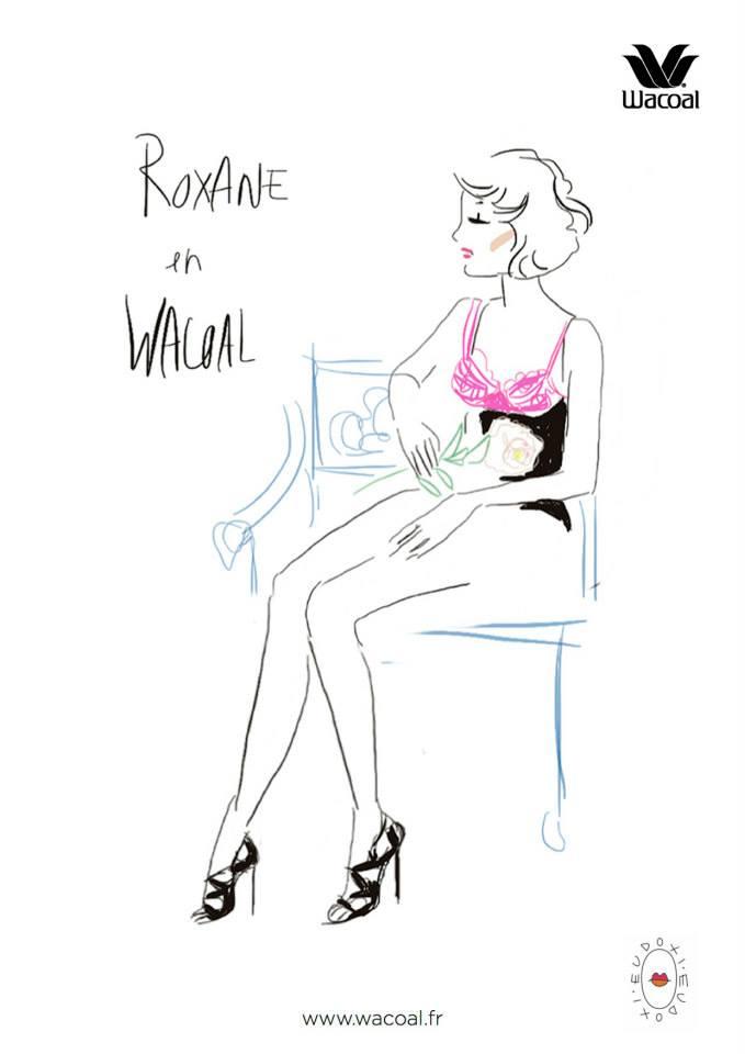 Wacoal en dessous Absolute summer Roxane
