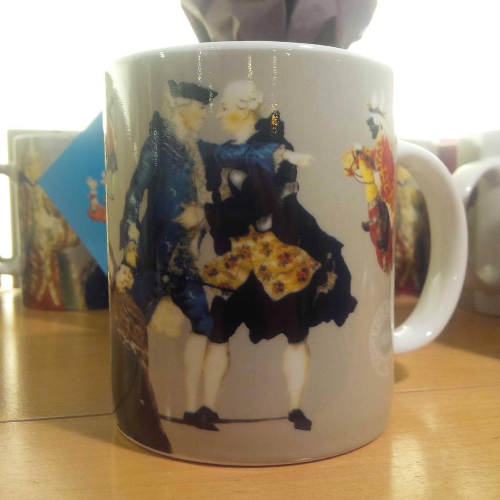 mug costume de scène comédie française