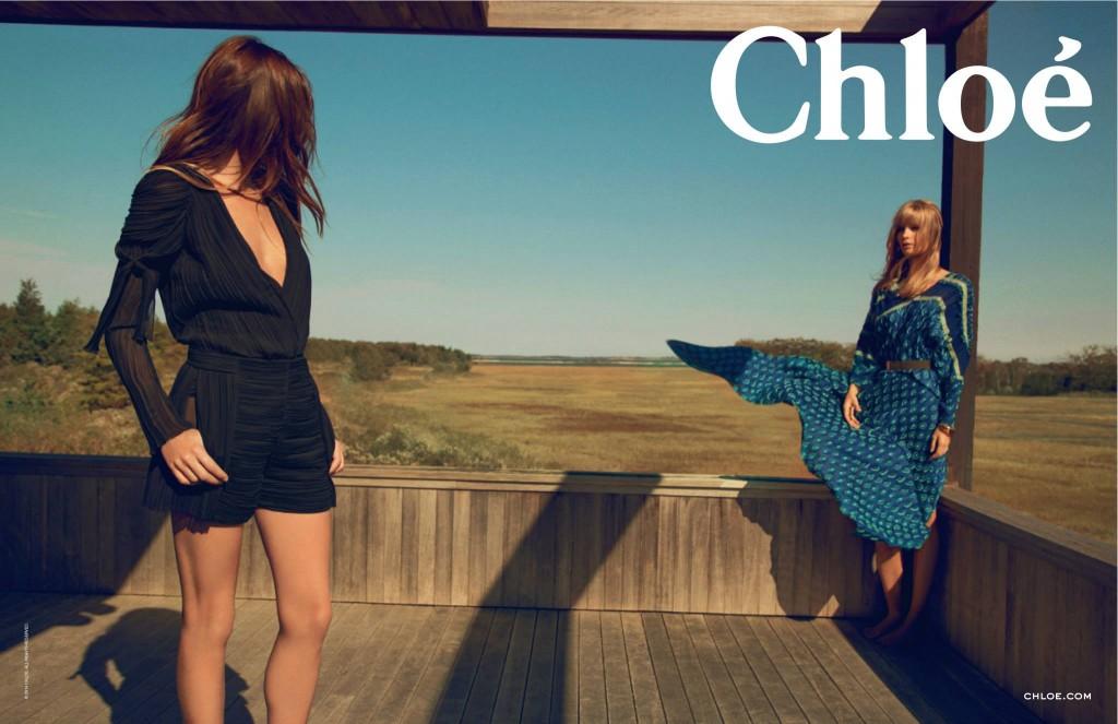 Chloe Campaign Spring Summer 2014