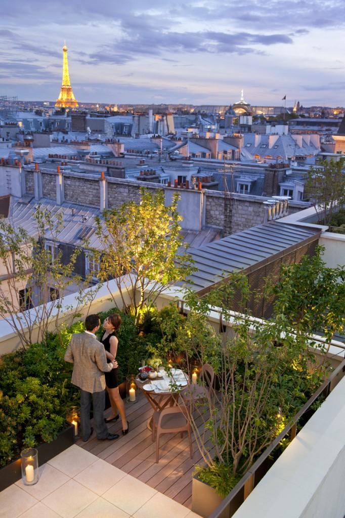 Mandarin Oriental, Paris - Terrasse Suite Cabochons 2