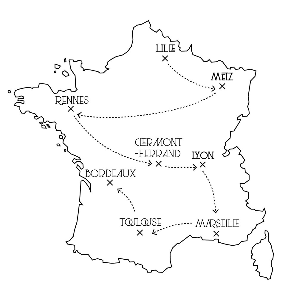 Tattoorialist Tour de France