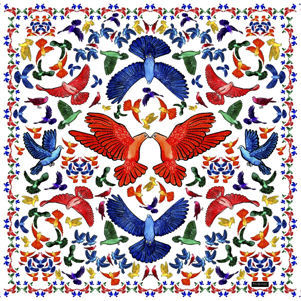 Ana Quasoar Carre¦ü Oiseaux  n-¦3