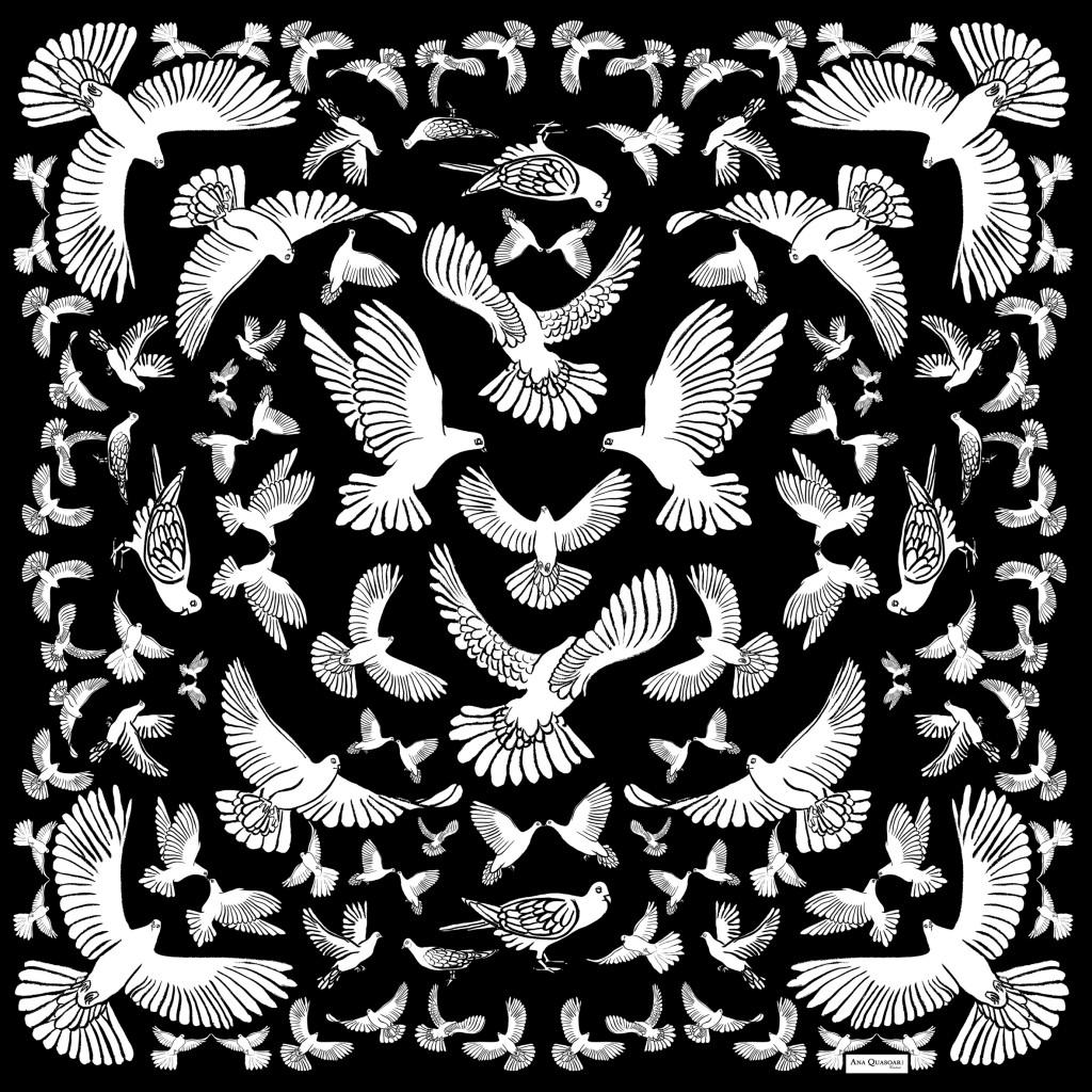 Ana Quasoar Carre¦ü oiseau-¦1