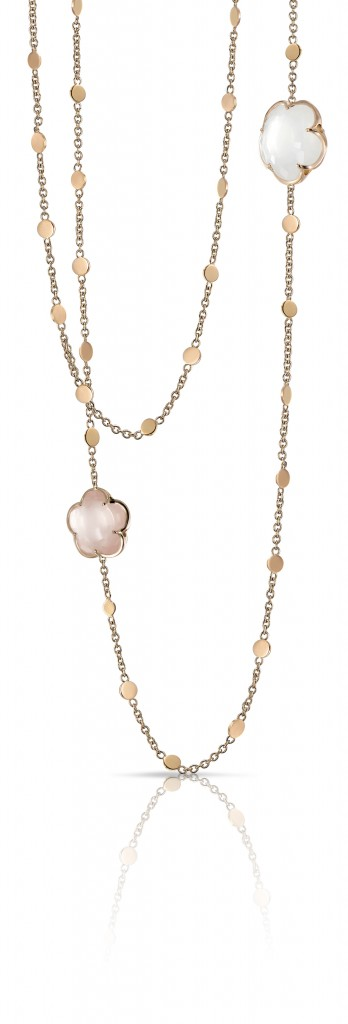 Bon Ton-neklace_milky and pink quartz