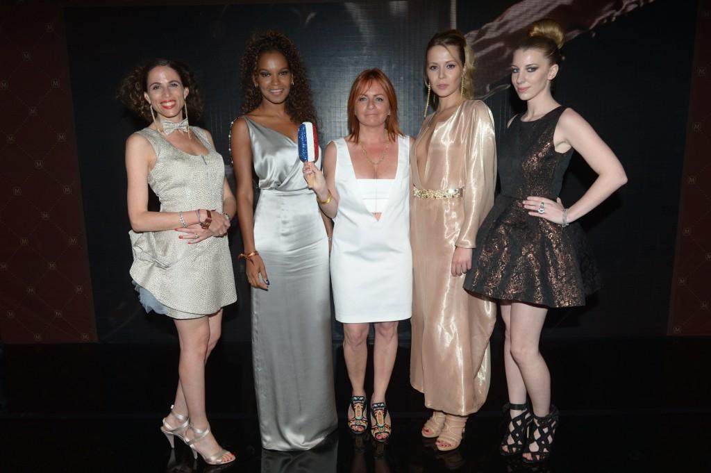 Gagnantes Magnum France avec leur cr+®atrice Liza Korn