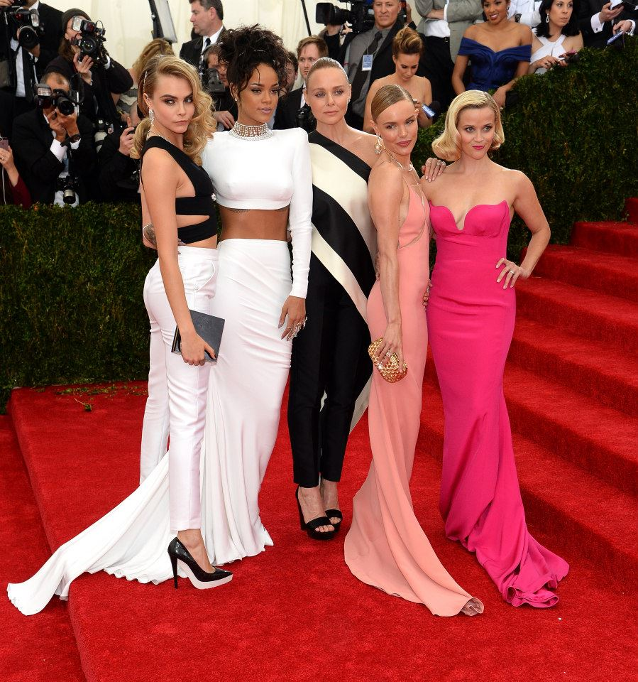 cara delevingne Rihanna Stella Mc cartney Kate Bosworth resse Witherspoon