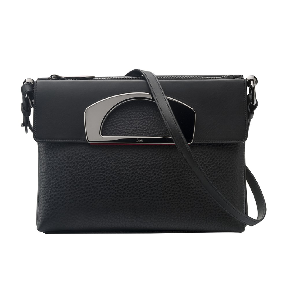 Christian Louboutin Passage Messenger Calf Black 1