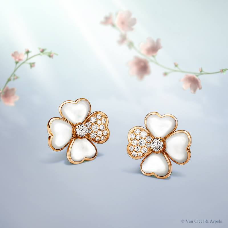 Van Cleef and Arpels Cosmos earrings
