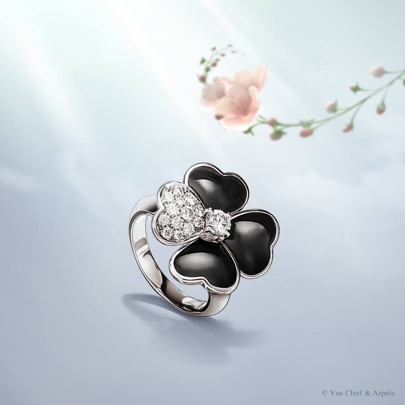 Van Cleef and Arpels Cosmos ring