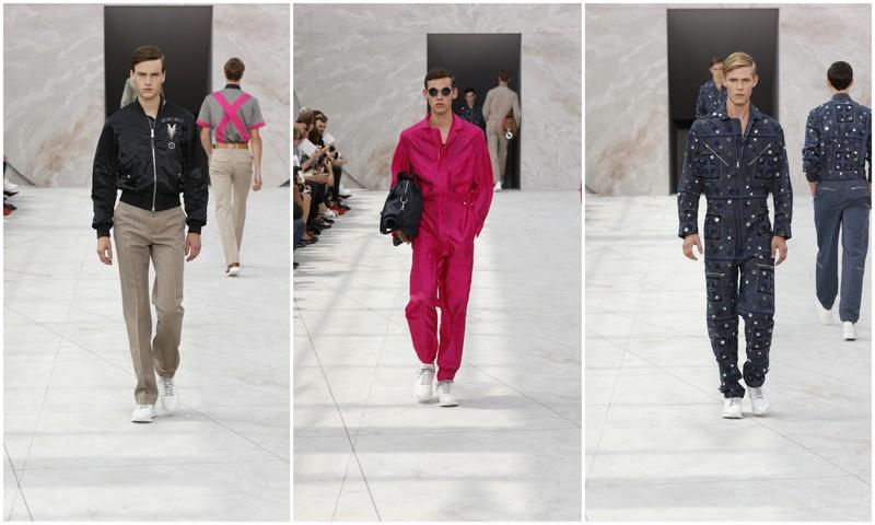 Louis Vuitton Men SS155